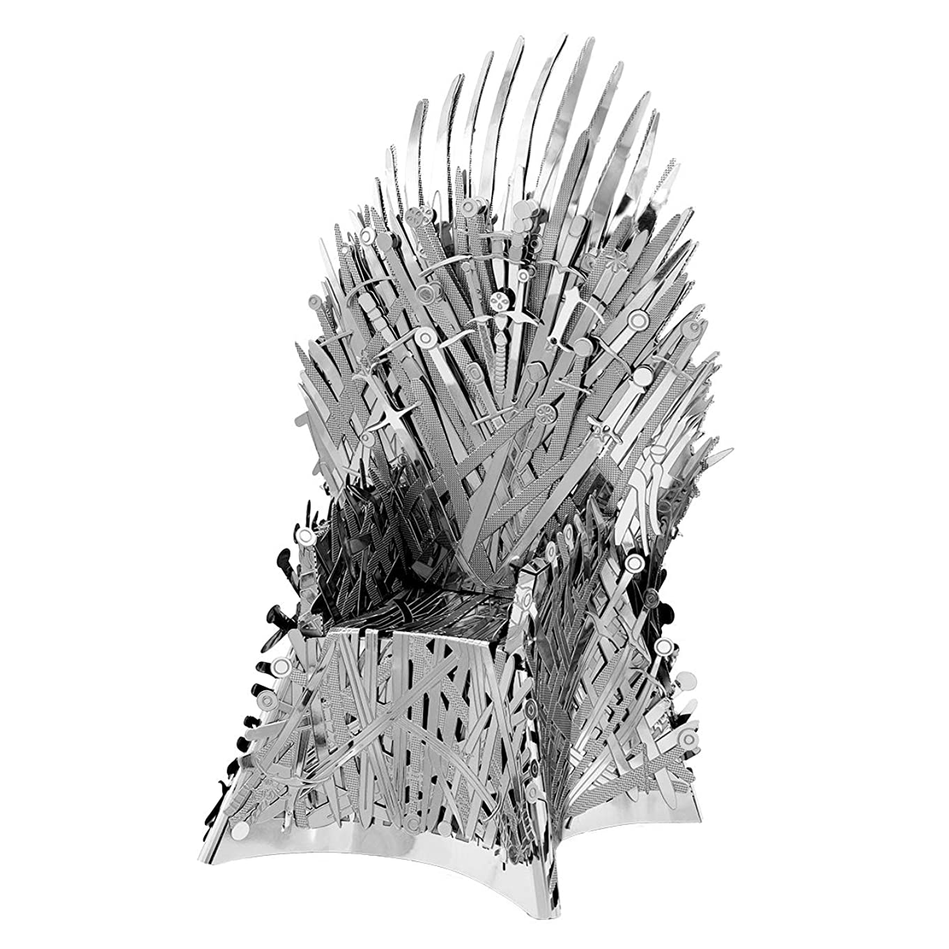 Fascinations Metal Earth ICONX Game of Thrones Iron Throne 3D Metal Model Kit