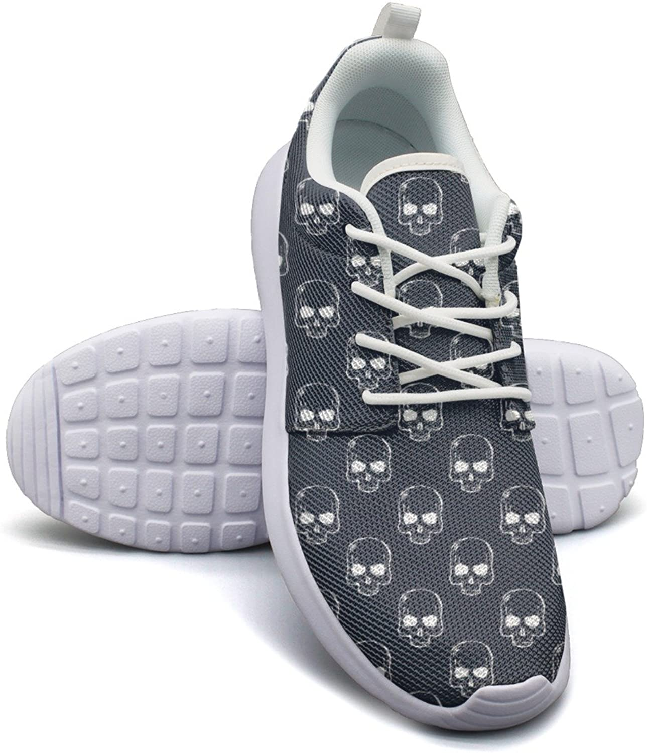 Skull Print Breathable Running shoes Women size 9