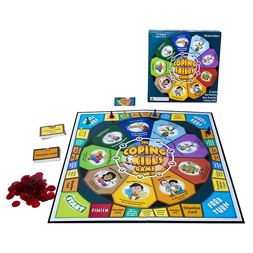 The Coping Skills Game: Nine Essential Skills to Teach Kids How to Deal with Real-Life Problems