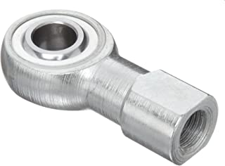 Sealmaster CTFD 4 Rod End Bearing, Three Piece, Commercial, Self-Lubricating, Female Shank, Right Hand Thread, 1/4
