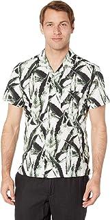 Hugo Boss Men's Rhythm Short Sleeve Button Down Regular Fit Shirt