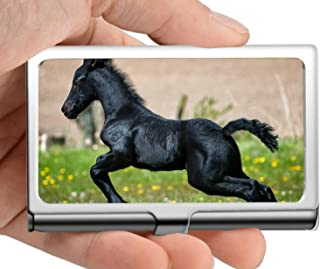 Professional Business Card Holder Stainless Steel,Livestock,Focus,Pony Credit Card ID Case/Holder/Cards Case