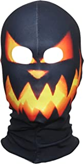 Polyester Fleece Costume Skin Masks Halloween Party Full Cover Hood Mask