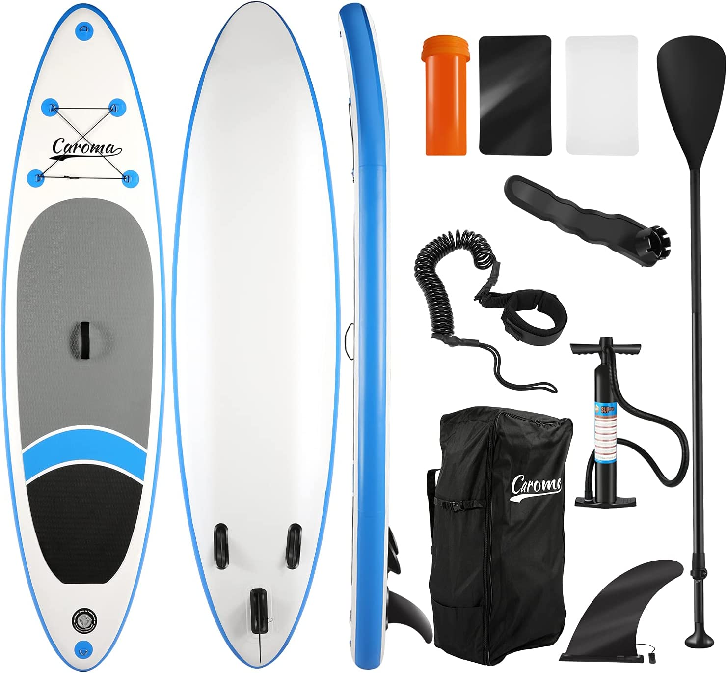 Caroma Inflatable Stand Up Paddle 無料 with Premium SUP Board Access 入手困難