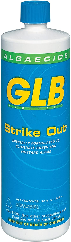 GLB Sale item Pool Spa Products 71114 Out 1-Quart Strike Product Algaecide