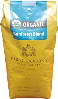 First Colony Organic Whole Bean Coffee, 40 Ounce