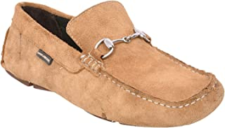 Maplewood Gates Biege Loafer Shoes for Men
