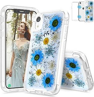 pressed flower iphone xr case