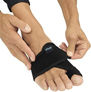 Vive Bunion Brace Big Toe Corrector Straightener With Splint Hallux Valgus Pad Joint Pain Relief Alignment Treatment Ortho...