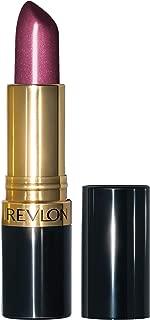 Revlon Super Lustrous Lipstick with Vitamin E and Avocado Oil, Pearl Lipstick in Purple, 625 Iced Amethyst, 0.15 oz
