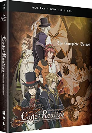 Code:Realize Guardian Of Rebirth Blu-Ray/DVD(コードリアライズ ~創世の姫君~ 全12話+OVA)