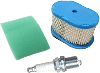 ouyfilters New Air Filter with Pre Filter for Briggs & Stratton 498596 690610 69702 5059h 4207 stens 100 – 093 John Deere ...