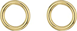 SHASHI - Forward Facing Hoops Earrings