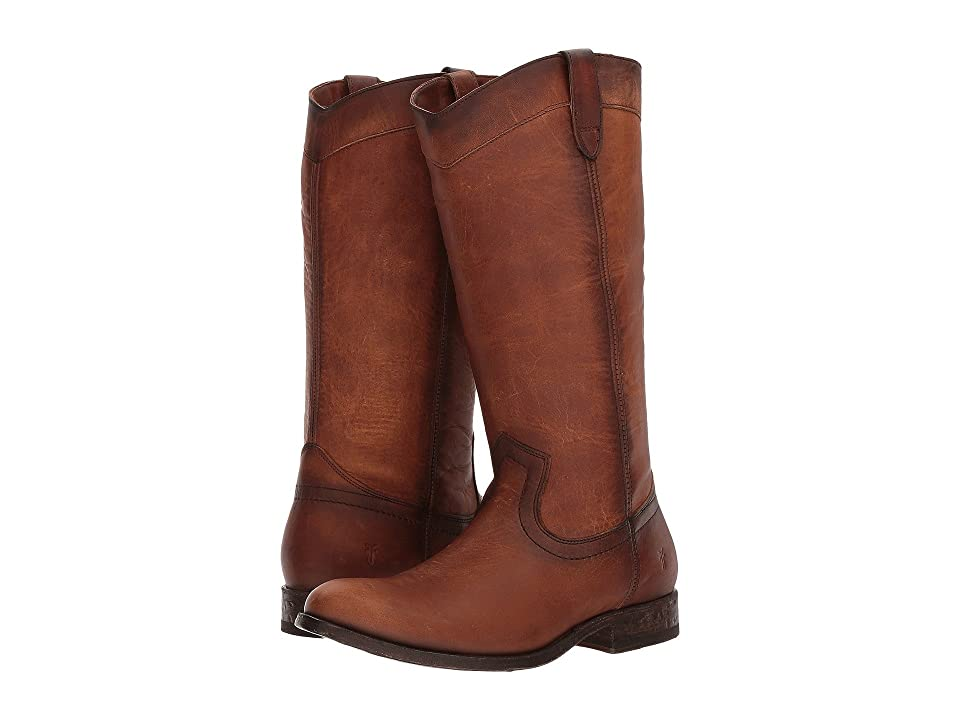 Frye Melissa Pull-On (Cognac Washed Oiled Vintage) Women