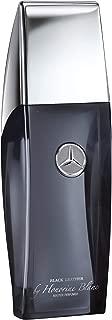 Mercedes Benz   VIP Club Black Leather   Eau de Toilette   Spray for Men   Leathery Fruity Scent   3.4 oz