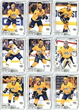 2018-19 O-Pee-Chee Hockey Nashville Predators Team Set of 18 Cards: P.K. Subban(#23), Austin Watson(#51), Viktor Arvidsson(#61), Roman Josi(#91), Filip Forsberg(#117), Ryan Johansen(#141), Scott Hartnell(#159), Juuse Saros(#162), Kevin Fiala(#173), Craig Smith(#225), Calle Jarnkrok(#238), Kyle Turris(#260), Pekka Rinne(#280), Mattias Ekholm(#322), Colton Sissons(#357), Ryan Ellis(#383), Nick Bonino(#399), Ryan Hartman(#419), plus more