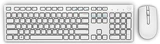 Teclado e Mouse Wireless Dell, KM636, Branco