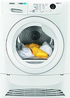Zanussi ZDH8353W Wäschetrockner / 8 kg Schontrommel / Weiß / effizienter Wärmepumpentrockner mit Mengenautomatik / niedrige Trocknungstemperaturen für feine Stoffe / 235 kWh pro Jahr