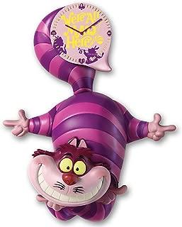 Bradford Exchange Disney Alice in Wonderland Cheshire Cat Wall Clock