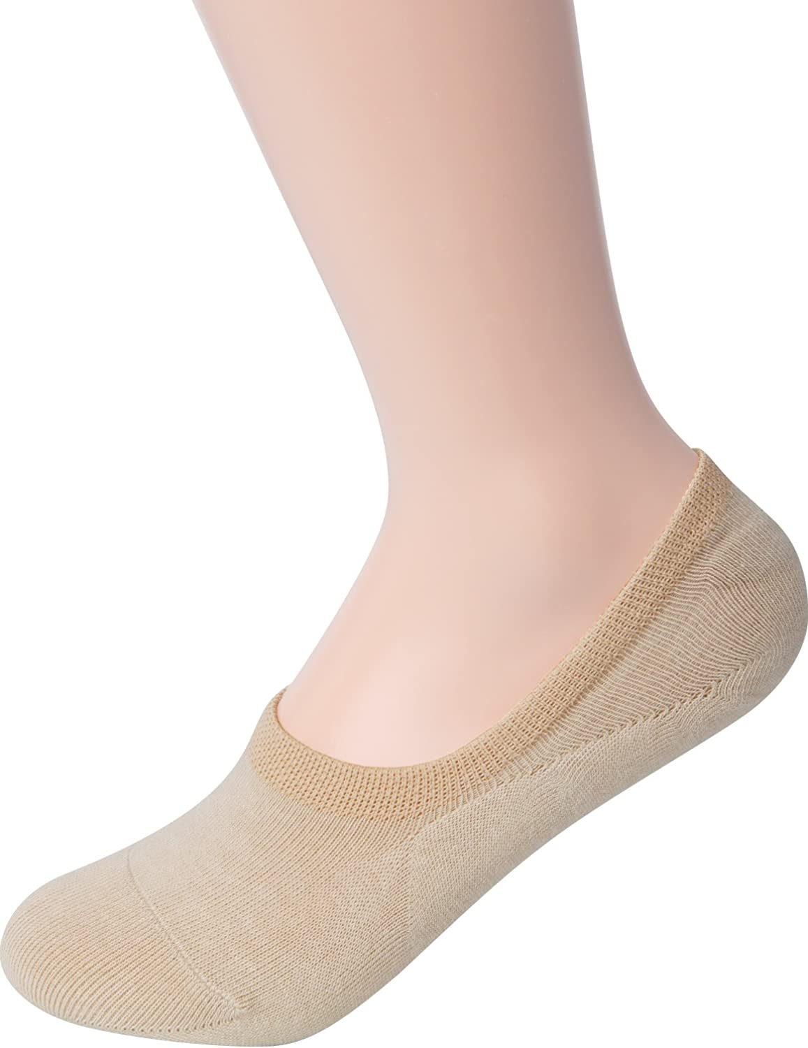 HASLRA Unisex Baby Little Girls' Little Boys' Excellent Stretch No Show Non-Slip Low Cut Socks 3-10 Pairs