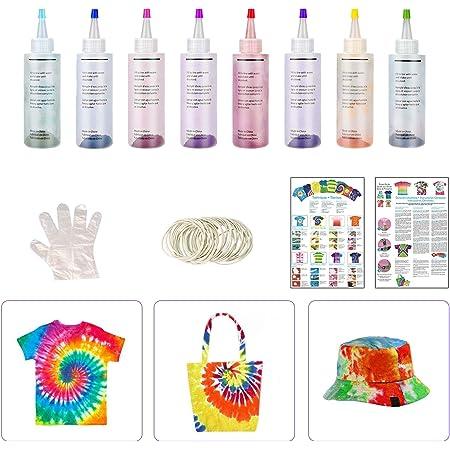 6 Colores Colores Vibrantes Pinturas Ropa,Tie Dye,Textiles de ...