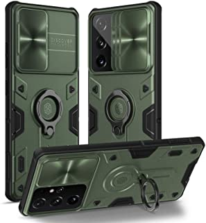 Nillkin for Samsung Galaxy S21 Ultra case, Kickstand Slide Camera Protector Cover for Samsung Galaxy S21 Ultra 5g Case 6.8...