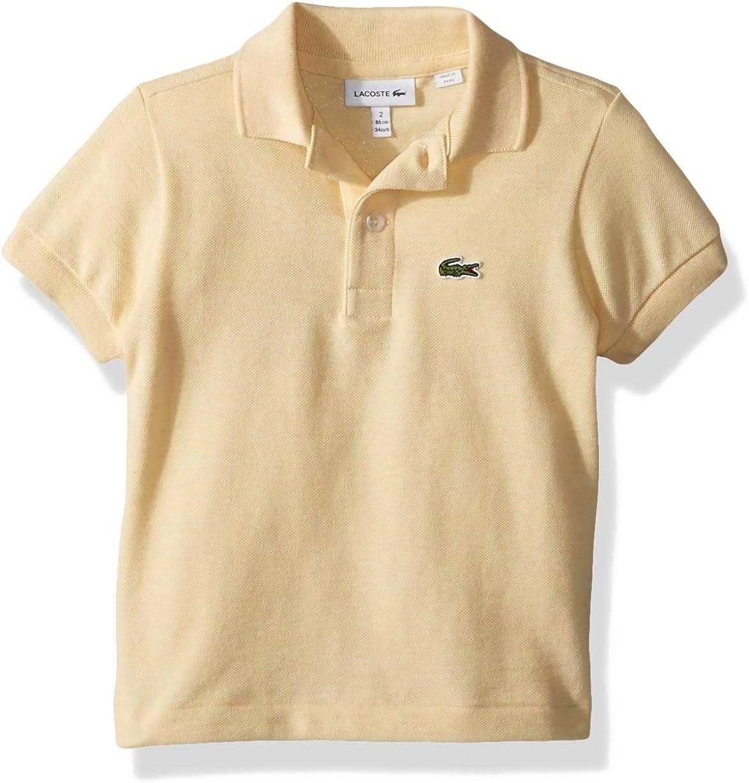 Lacoste Boys Short Sleeve Legacy/Pique Polo Shirt