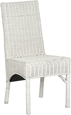 Safavieh Home Collection Sommerset White Dining Chair (Set of 2)