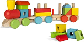 WOOMAX - Tren madera colores (ColorBaby 40998)