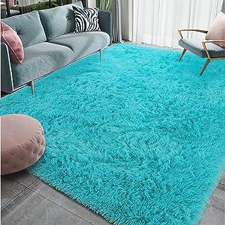 Homore Luxury Fluffy Area Rug for Bedroom Living Room Soft Carpets, Super Cute Comfortable Shag Rugs Modern Carpet for Kid...