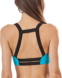 Balanced Tech Women's Athletic Thick Strap Caged Sport Bra