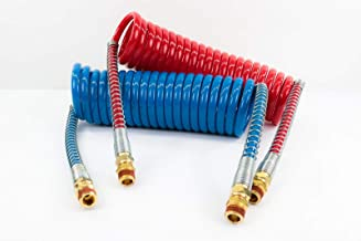 Coiled Air Set Power ProductsTM Coiled Set Red & Blue Working Length - 15 ft Pigtail Length - 12 in Valve Ends