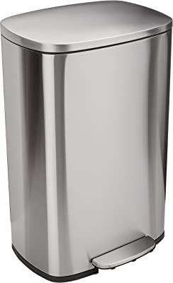 13 Gallon Stainless Steel Trash Can
