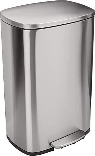 Amazon Basics C-10074FM-50L trash can, 50L
