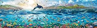 Buffalo Games - Panoramic - The Big Blue Sea - 750 Piece Jigsaw Puzzle
