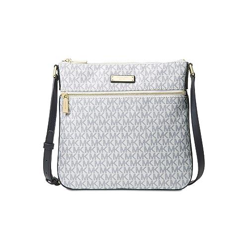 90e83152107d MICHAEL Michael Kors Bedford Signature Flat Cross-Body Bag