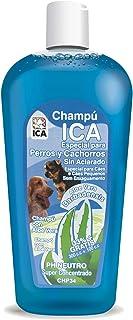 ICA CHP34 Champú con Aloe Vera para Perros Lavado en Seco