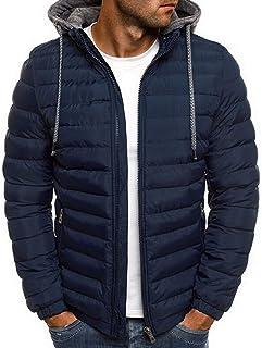 Blaq Ash Men's Puffer Down Jacket Removable Hood