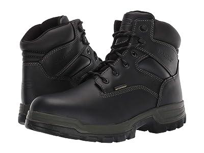 Wolverine Stratus Waterproof 6 Soft Toe Boot (Black) Men