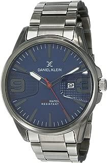 Daniel Klein Analog Blue Dial Men's Watch-DK12150-5