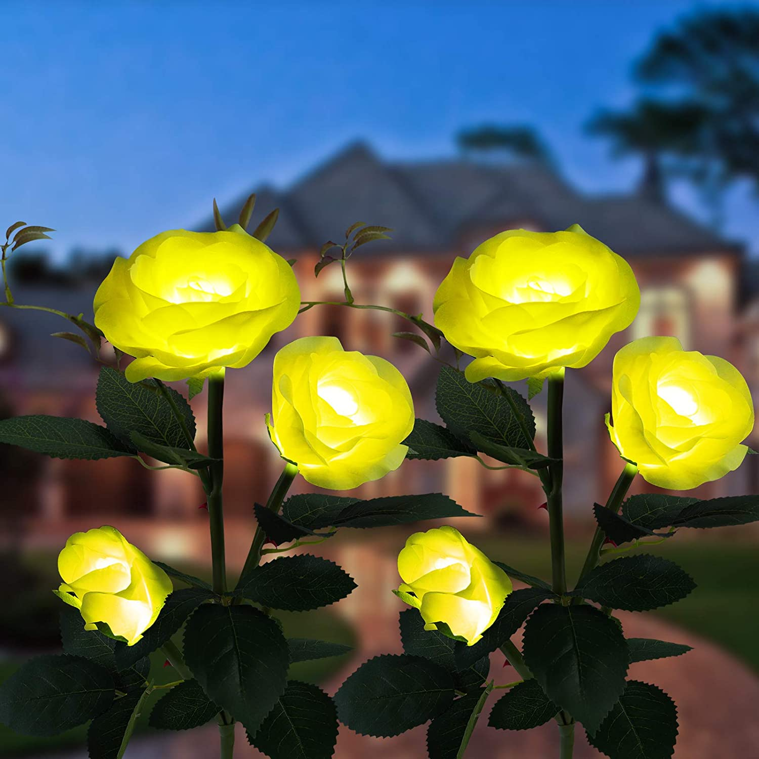 2 Pack Solar New popularity Lights In stock for Garden Decorative Outdoor Fairy