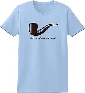TOOLOUD Ceci N'est pas une Pipe Womens T-Shirt