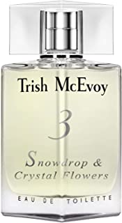 Trish Mcevoy 3 Snowdrops & Crystal Flowers EDT Spray 1.7 Oz / 50 Ml