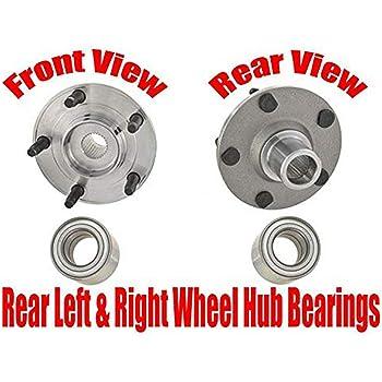 Rear Wheel Bearing and Hub Assembly fits 2012 Mazda 2