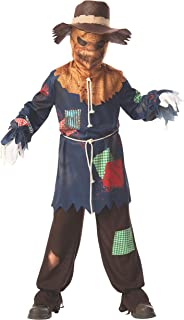 Rubies Sinister Scarecrow Boys Child Creepy Costume