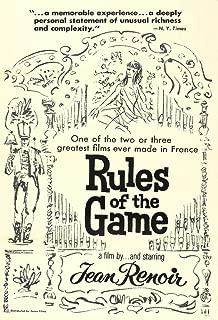 la regle du jeu poster