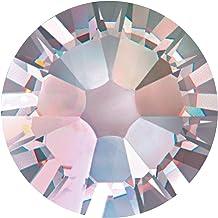 New Swarovski Elements 2058 (2028) Foiled Flatbacks ss 7 Crystal AB 10 Gross (1440) Rhinestones Factory Pack