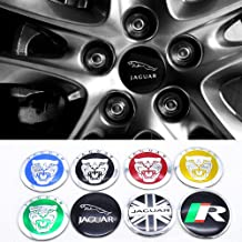 wangjianbin 4pcs Car Wheel Accessories Tyre Valve Dust Cover Air Valve Caps Auto Styling Metal Tyre Cover For Jaguar Xf Xfl Xj Xjl Xe Xel Xk Xkr Xj6 S F X Type Etype E P I Pace Sport Suv