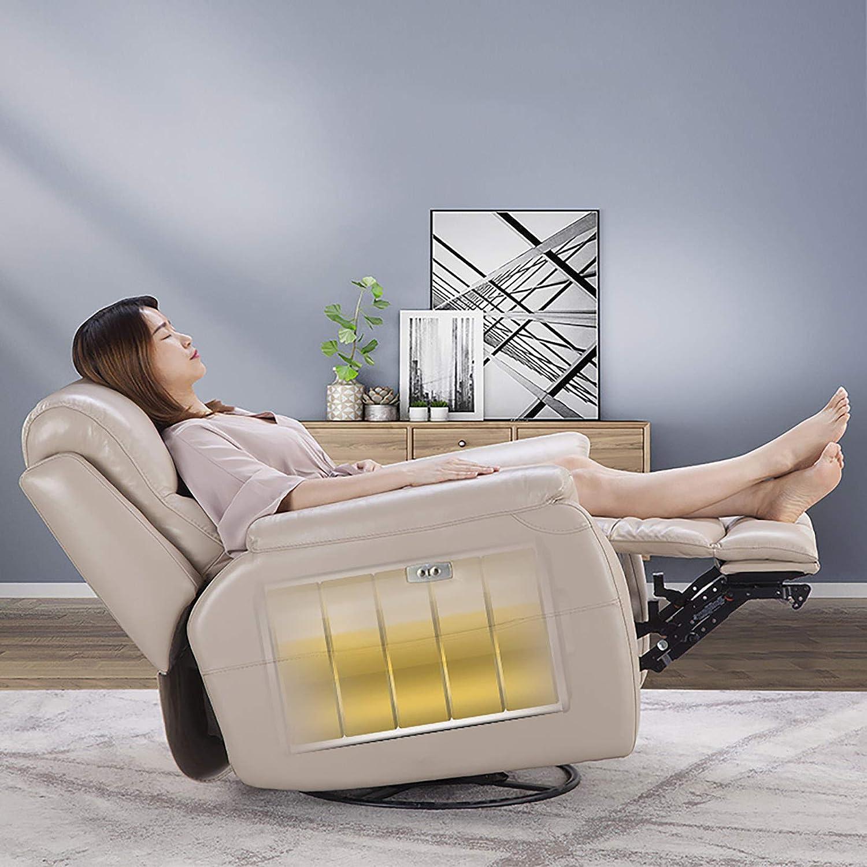Fauteuil Inclinable Électrique, Fauteuil Inclinable, Utilisé pour Détendre Le Corps, Multicolore en Option, Adapté À La Maison/Au Bureau/Au Cinéma Gray