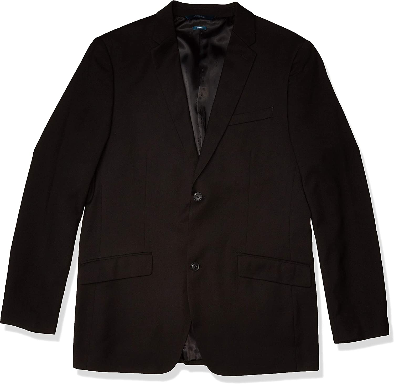 Perry Ellis Men's Big & Tall Solid Suit Jacket